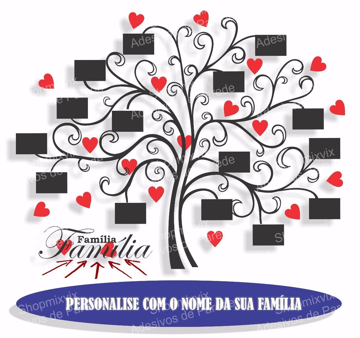 Adesivo Porta De Barbearia ~ Adesivo De ParedeÁrvore Genealógica Família Porta Retrato 2 R$ 259,98 em Mercado Livre