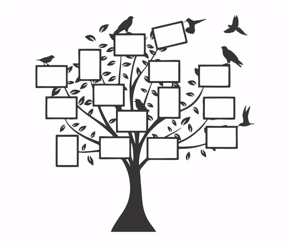 adesivo de parede arvore genealogica mod 35 r 139 90 em mercado livre