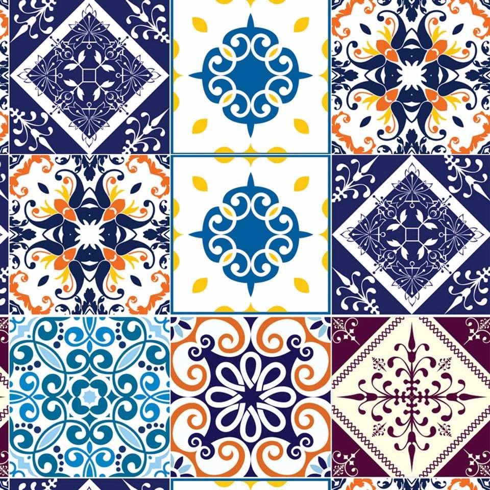 Armarios Keter En Argentina ~ Adesivo De Parede Azulejo Hidráulico Banheiro Cozinha 3m R$ 54,97 em Mercado Livre