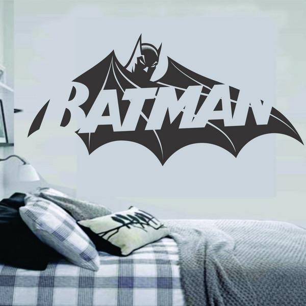 264cfc97cd138c Adesivo De Parede Batman Liga Da Justiça Quarto Infantil
