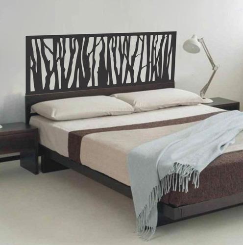 adesivo de parede cabeceira cama quarto casal 55x140 cm