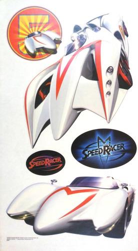 adesivo de parede cartela coleção speed racer nº 3
