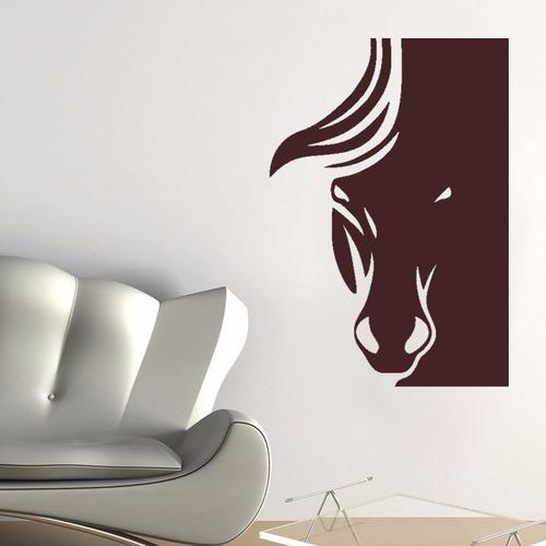 adesivo de parede cavalo hipismo natureza animal 55x80 cm