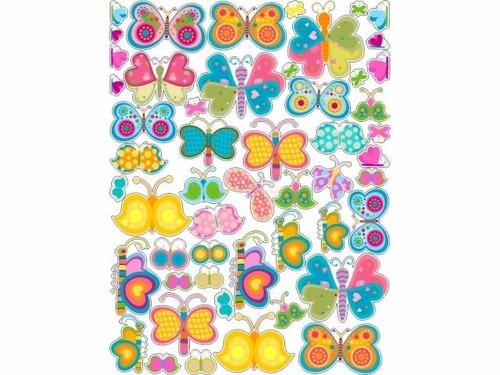 adesivo de parede de borboletas