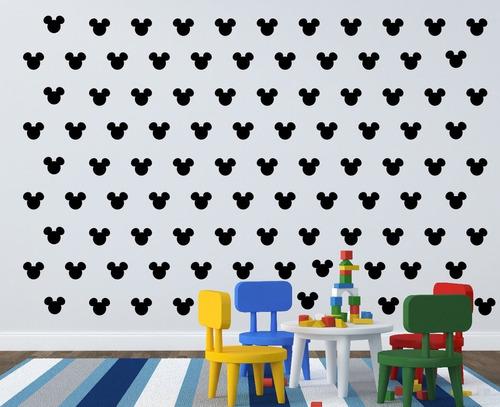 adesivo de parede decoração mickey infantil 20 unidades