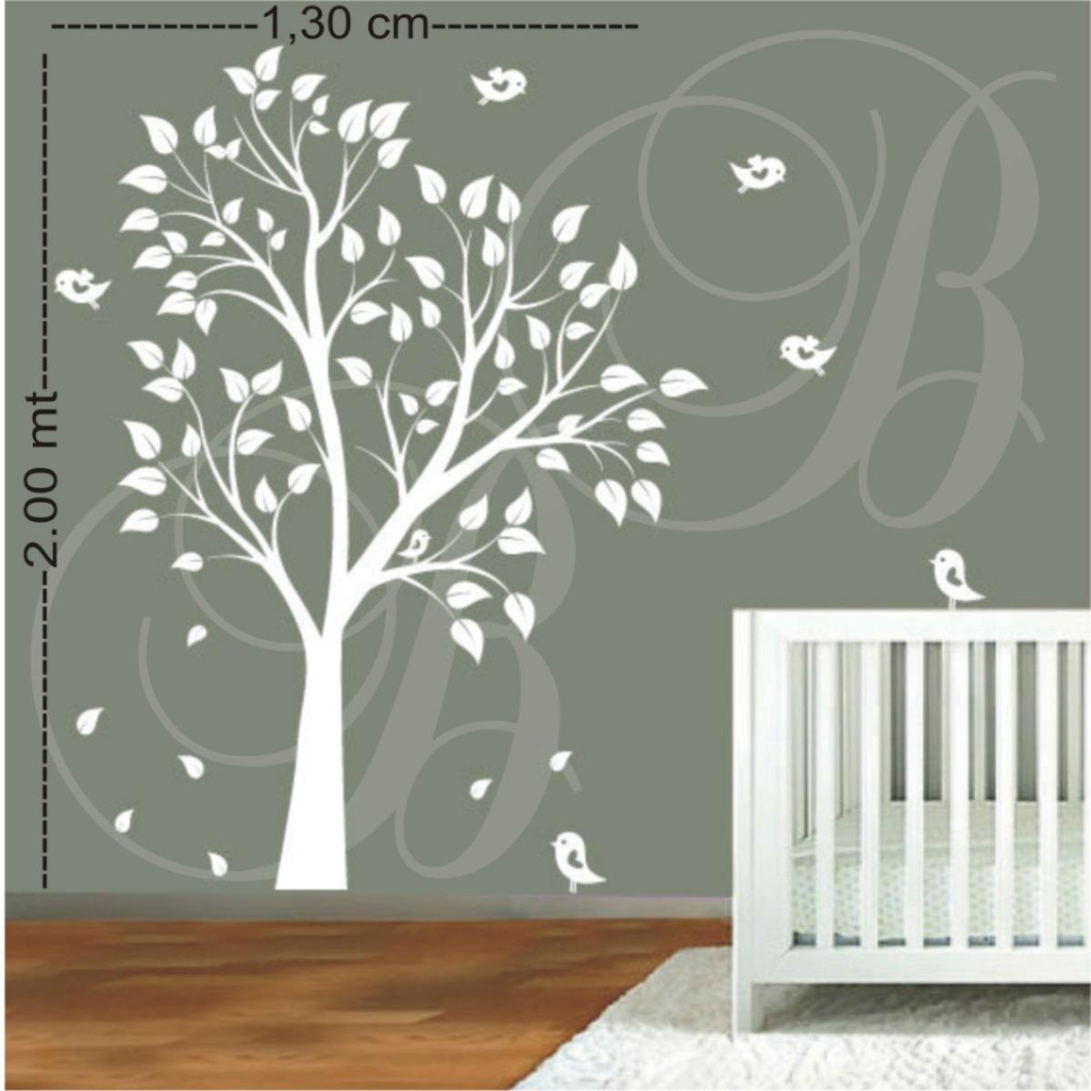 Artesanato Mobile Infantil Passo A Passo ~ Adesivo De Parede Decorativo Arvore Grande 2 00 R$ 129,00 em Mercado Livre