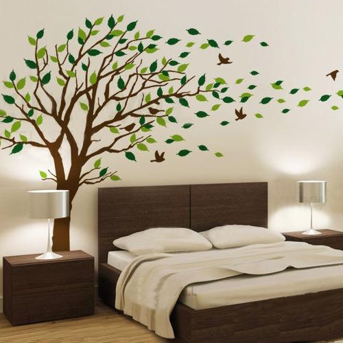 Armario Ikea Pax Roble ~ Adesivo De Parede Decorativo Arvore Grande 2 00 Mt Proporç u00e3o R$ 119,90 em Mercado Livre