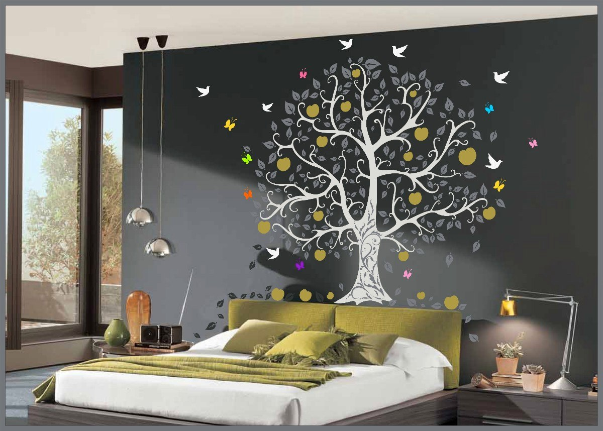 Adesivo Balao Pipa ~ Adesivo De Parede Decorativo Arvore Grande R$ 194,89 em