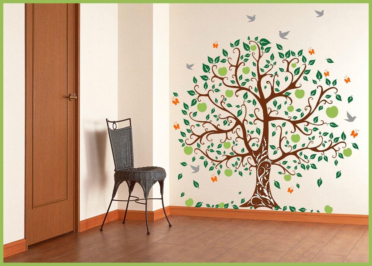 Artesanato Baiano Onde Comprar ~ Adesivo De Parede Decorativo Arvore Grande R$ 194,89 em Mercado Livre