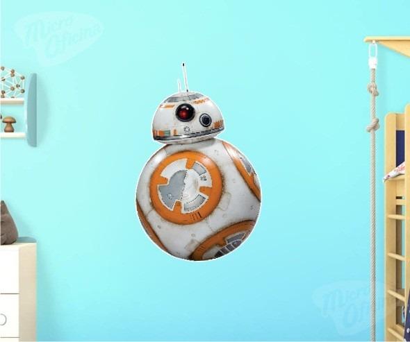 Aparador Cocina Estrecho ~ Adesivo De Parede Decorativo Bb8 Star Wars Bb 8 R$ 69,90 em Mercado Livre