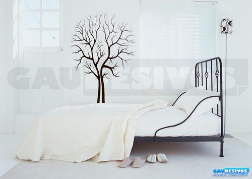 adesivo de parede decorativo floral seco