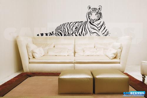 adesivo de parede decorativo onça extra grande sala quarto