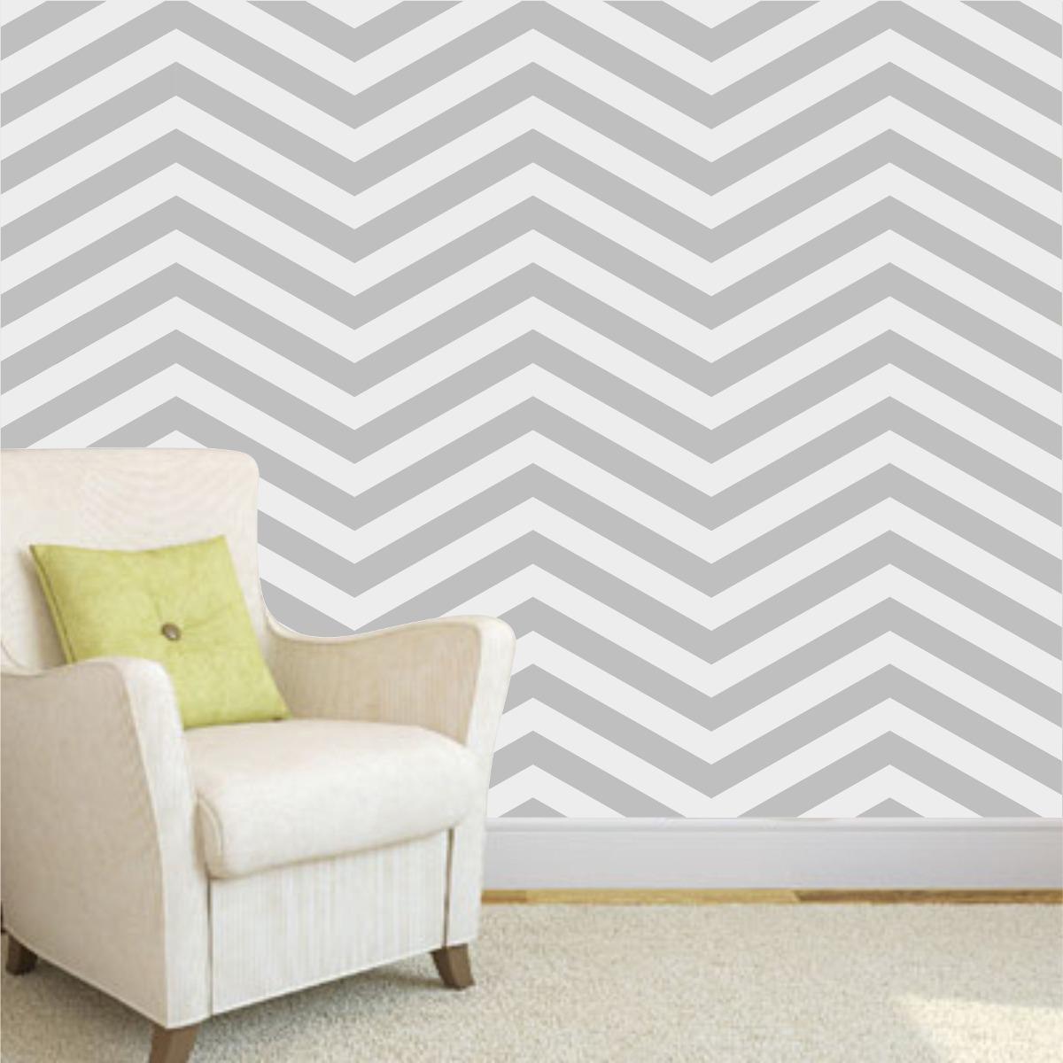 Adesivo de parede decorativo revestimento e papel de - Papel para paredes ikea ...