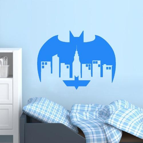adesivo de parede decorativo super herói batman 75x100 cm