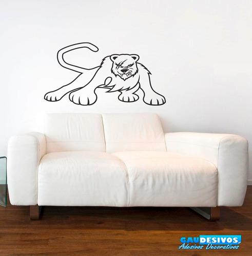 adesivo de parede decorativo urso grande decoração interna