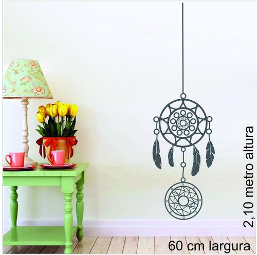 adesivo de parede filtro dos sonhos catcher 60x210 cm