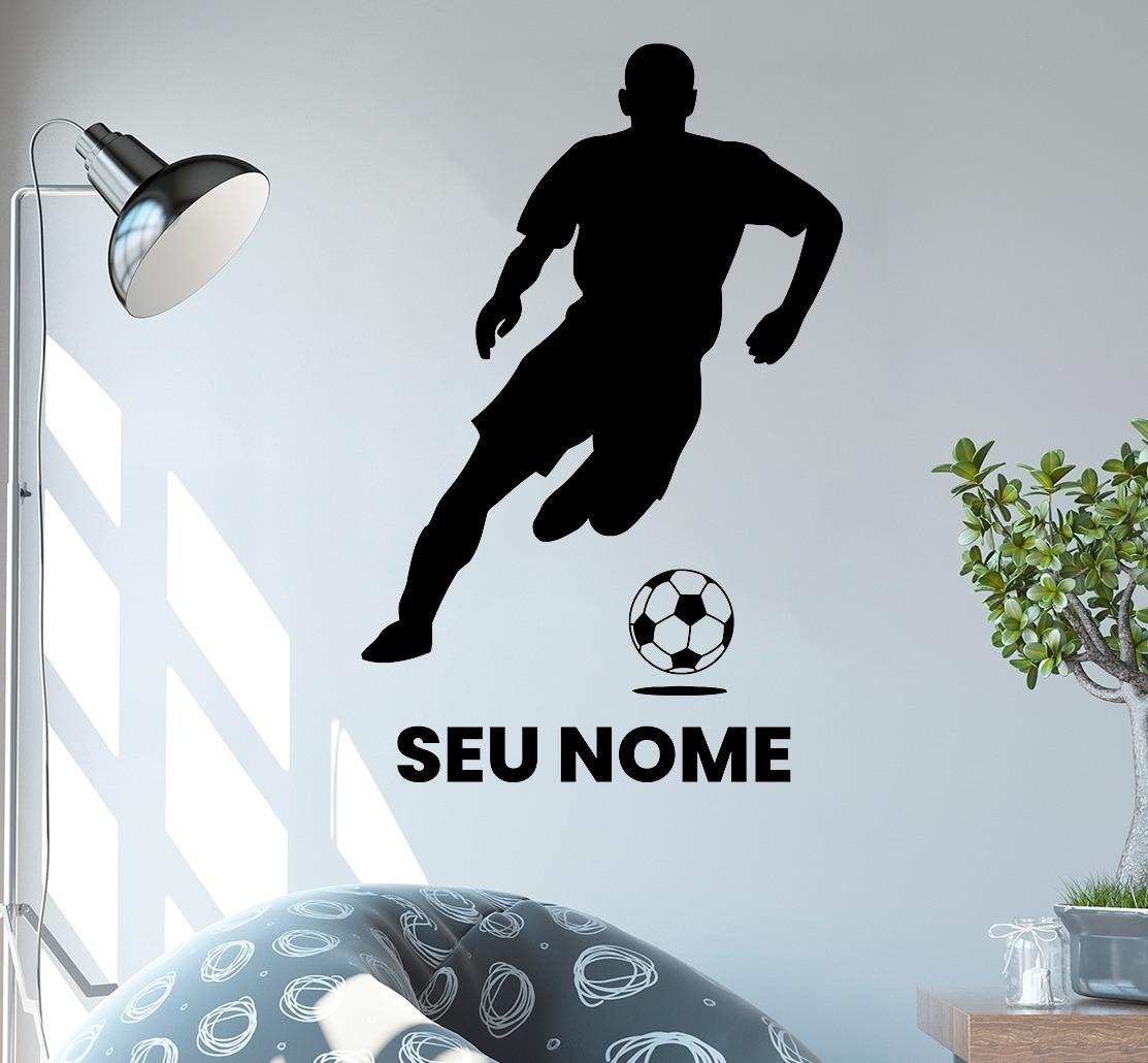 73ab32f2e adesivo de parede - futebol bola esporte personalizado. Carregando zoom.