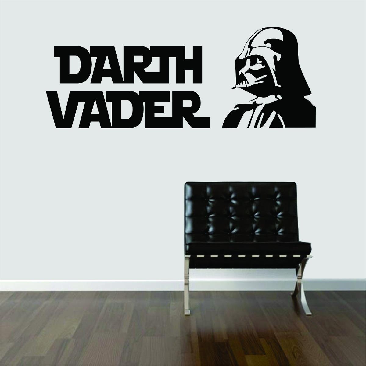 Aparador De Grama A Gasolina ~ Adesivo De Parede Geeks Filme Star Wars Darth Vader R$ 39,99 em Mercado Livre