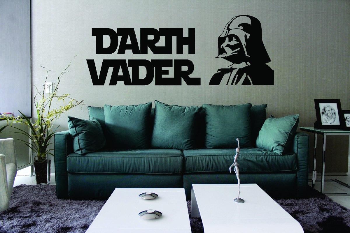 Aparador Cocina Estrecho ~ Adesivo De Parede Geeks Filme Star Wars Darth Vader R$ 39,99 em Mercado Livre