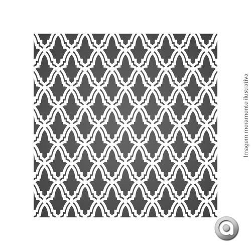 adesivo de parede geometrics 08_u-prata 250x50 cm