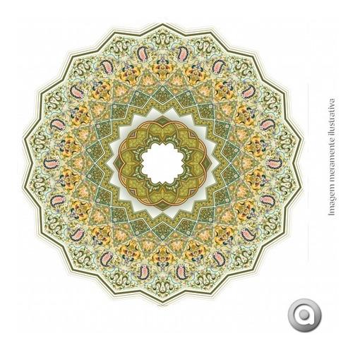 adesivo de parede haus for fun mandala colorida 3_m 60x60 cm