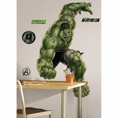 adesivo de parede - hulk