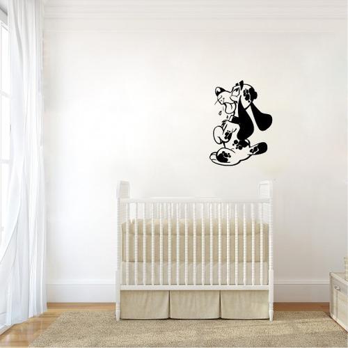 adesivo de parede infantil cachorrinho animais 60cm a518