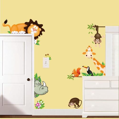 adesivo de parede infantil decorativo vários modelos liquida