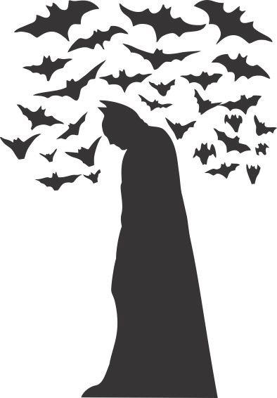 Aparador Para Sala De Estar Com Vidro ~ Adesivo De Parede Kids016 80x115cm (batman Com Morcegos) R$ 49,00 em Mercado Livre