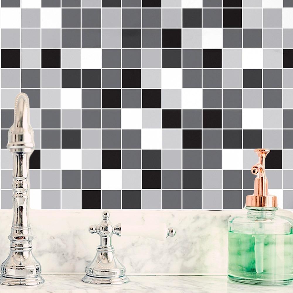 c31bf8cf6 adesivo de parede pastilha lavável vinílico cozinha banheiro. Carregando  zoom.