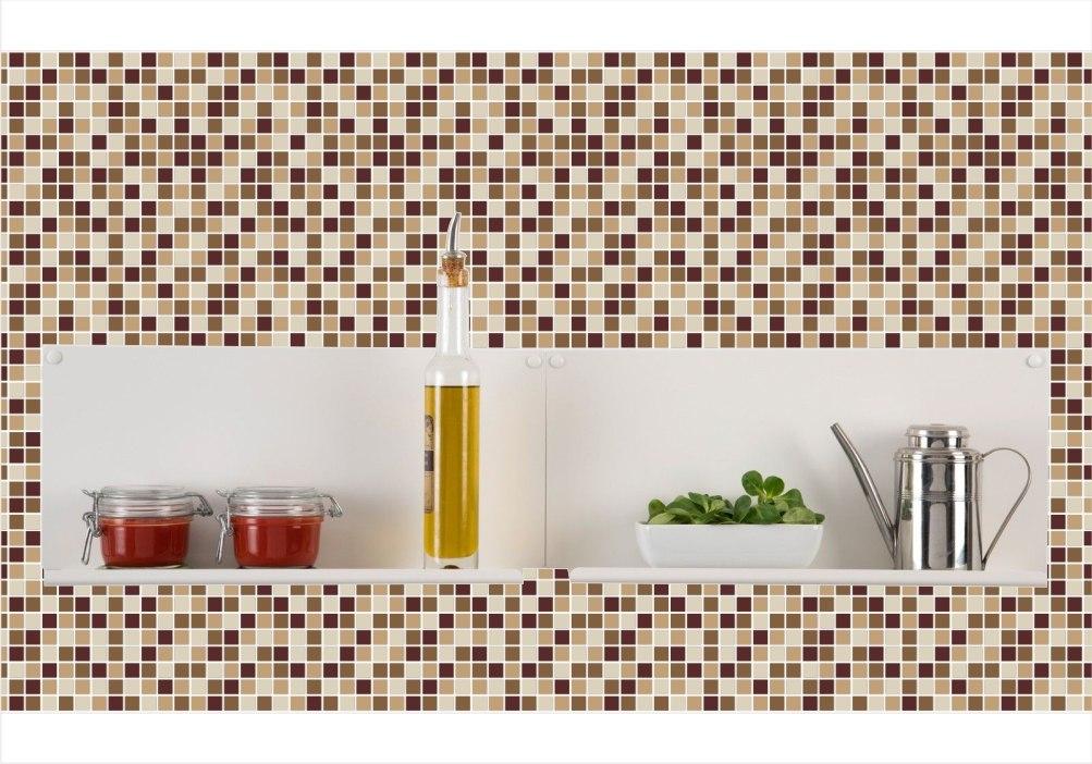 fecdd622d adesivo de parede pastilhas cozinha lavável vinílico m11. Carregando zoom.