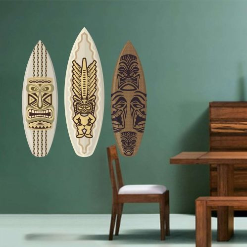 adesivo de parede pranchas de surf 80cmx90cm