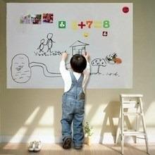 adesivo de parede quadro branco lousa 200x61cm frete gratis!