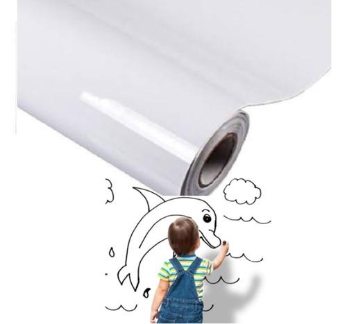 adesivo de parede quadro branco lousa 2m x 1m