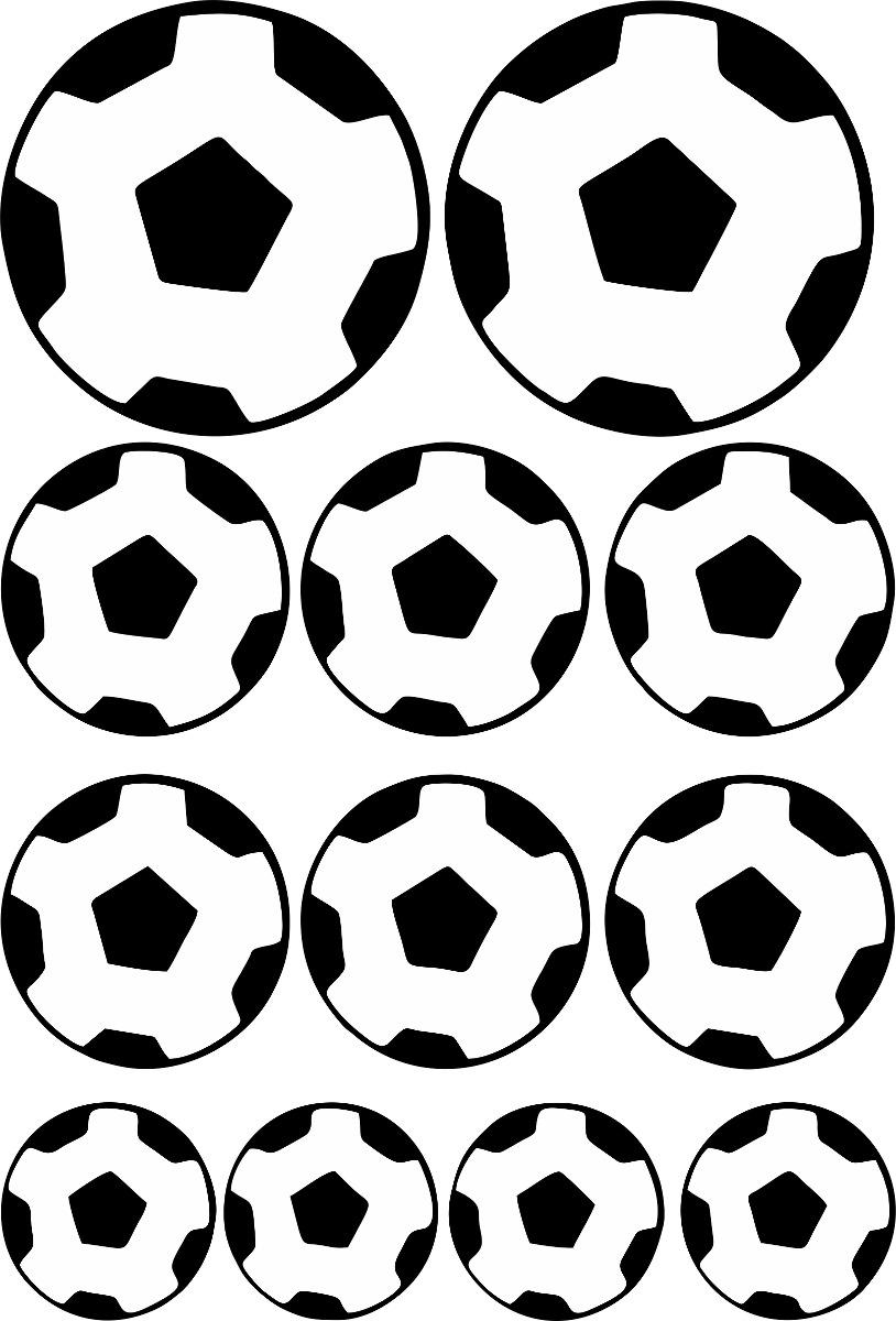 0dcc8c8c4265f Adesivo De Parede Quarto Menino Bola De Futebol + Nome - R  59