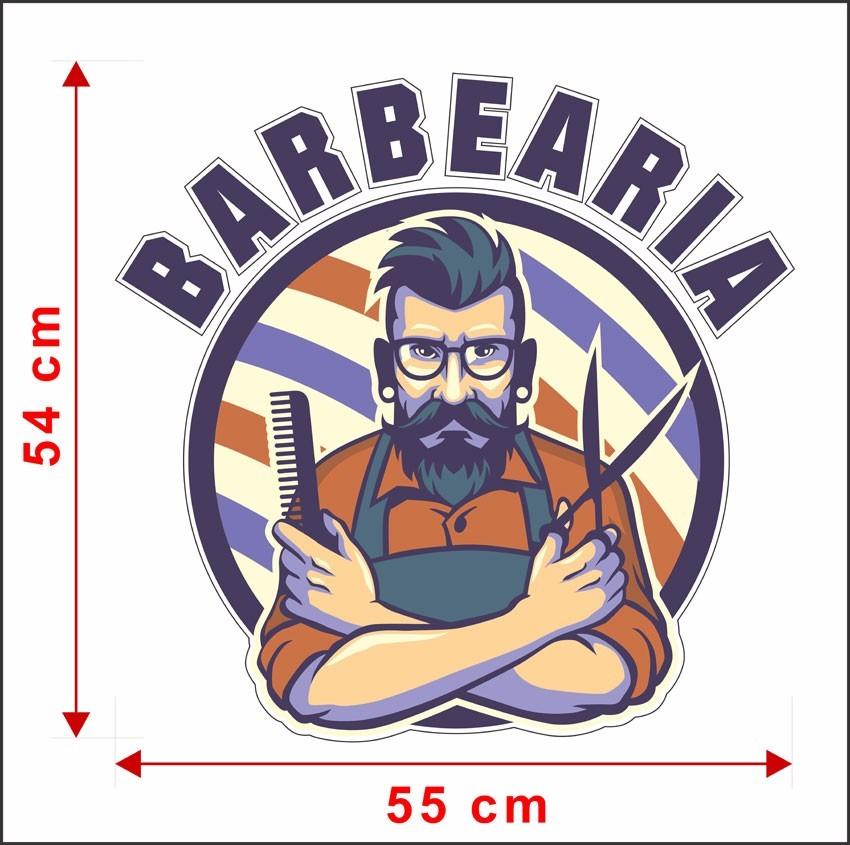 Artesanato Para Vender Passo A Passo ~ Adesivo De Parede Sal u00e3o De Barbearia Cabelos Barba Will407