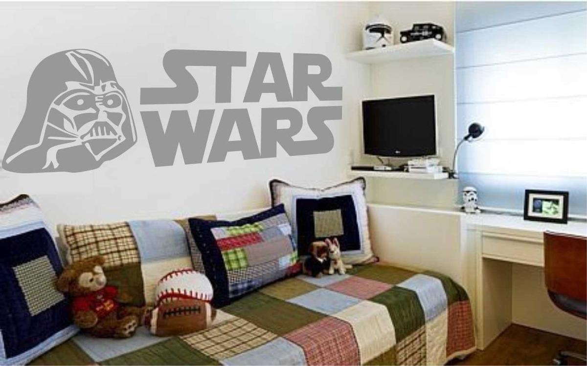 Adesivo De Parede  Star Wars  Dartwader  Jedy  Guerra  R$ 79,90 em Merca