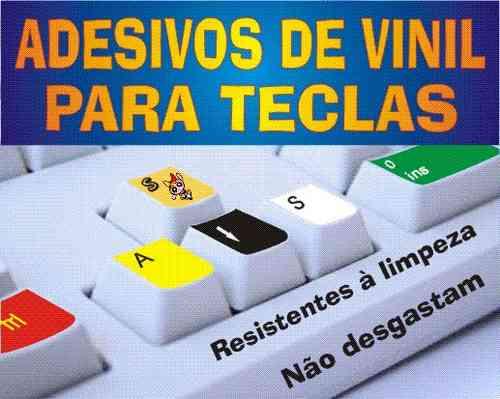 Aparador Madeira ~ Adesivo De Vinil P teclados @@ Letras Grandes Ou Normais R$ 20,00 em Mercado Livre