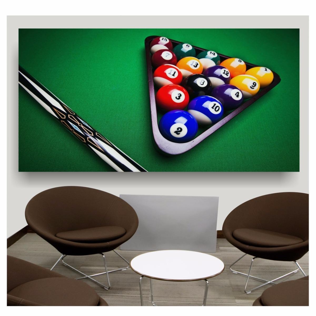 adesivo decoração bola bilhar sala de jogos 2x1m sinuca s71. Carregando  zoom. 2f3112a2f7881