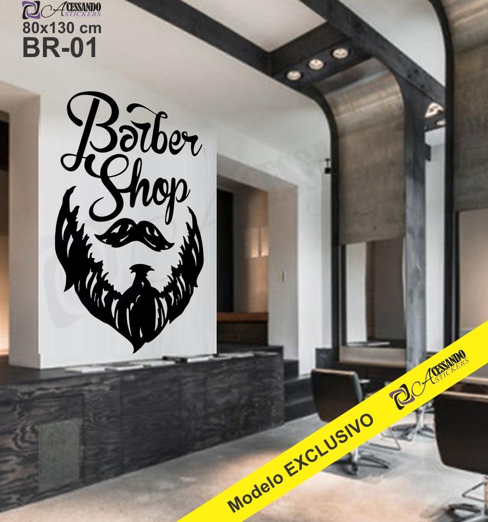 Artesanato Para Vender Passo A Passo ~ Adesivo Decoraç u00e3o Papel Parede Barbearia Cabeleireiro