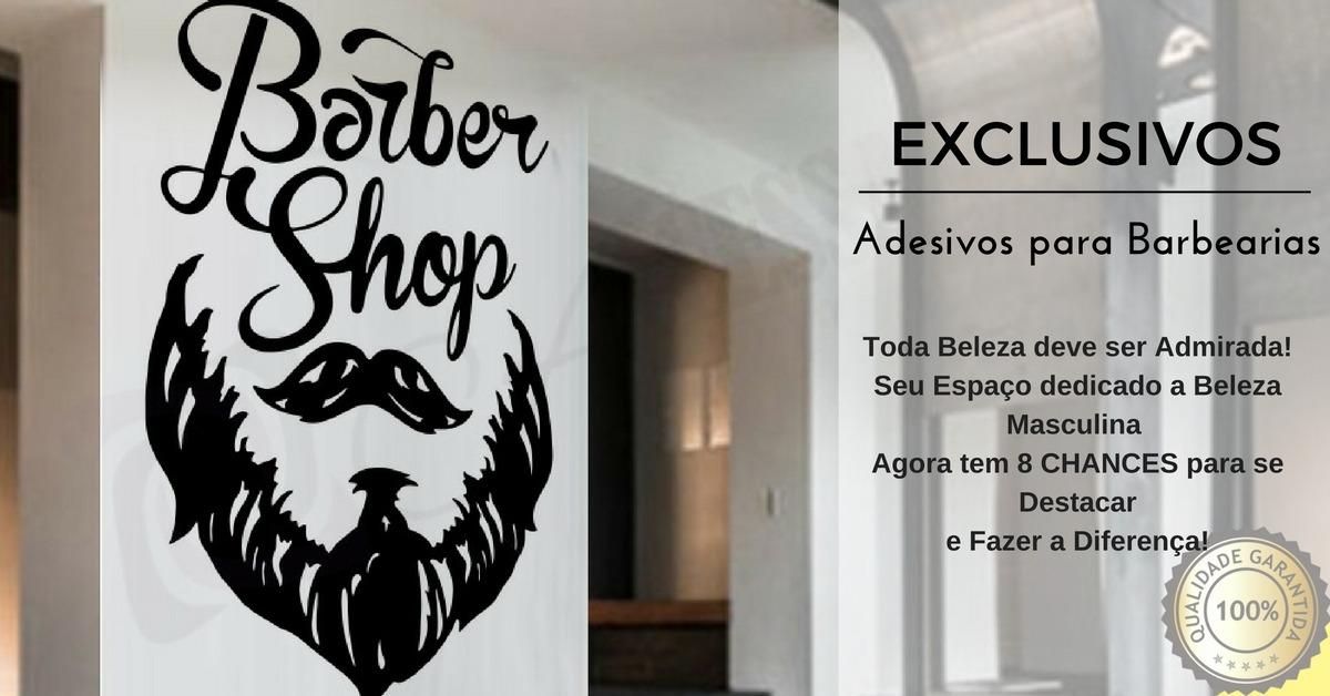 Armario Ikea Aneboda ~ Adesivo Decoraç u00e3o Papel Parede Barbearia Cabeleireiro Oferta R$ 119,38 em Mercado Livre