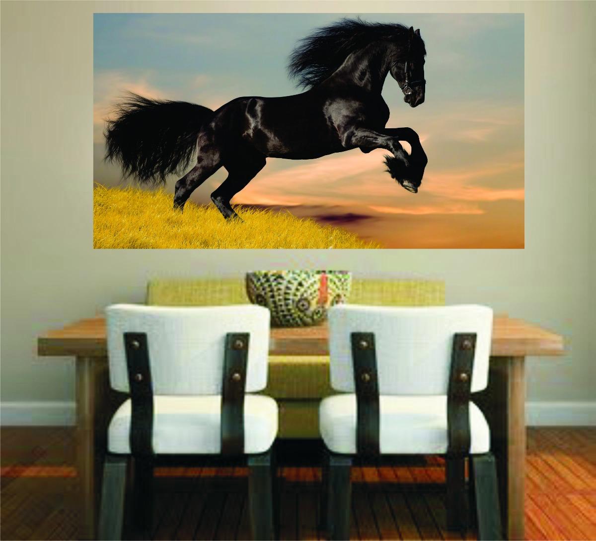 Adesivo Decora O Parede Sala Imagem Cavalo Cowboy Aras R 44 99  -> Fts De Cavalo Rm Adesivo Pra Quarto