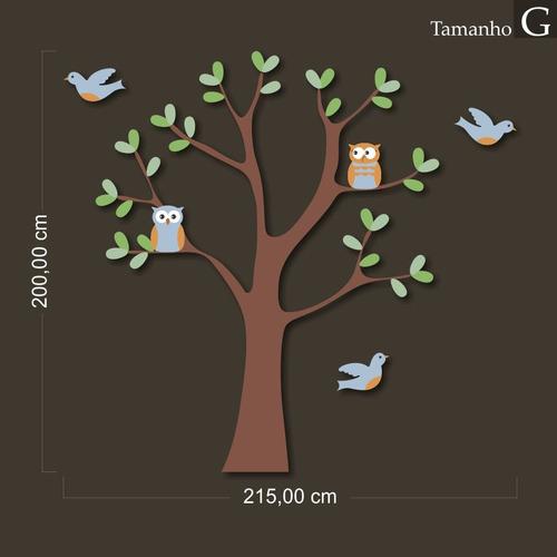 adesivo decorativo - árvore baby - tamanho g