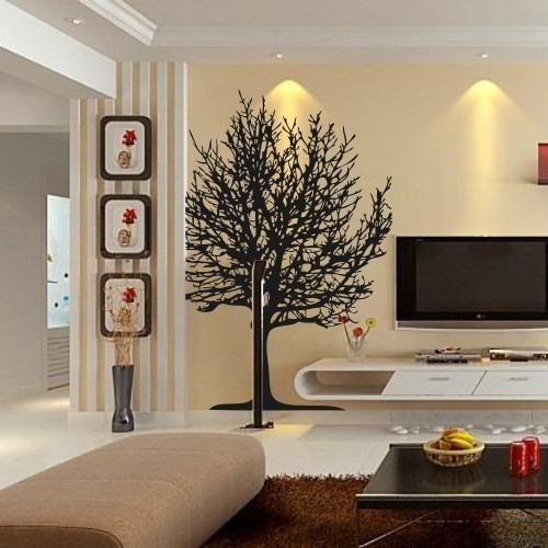 adesivo decorativo árvore seca decorativo 95cm x 1,20m