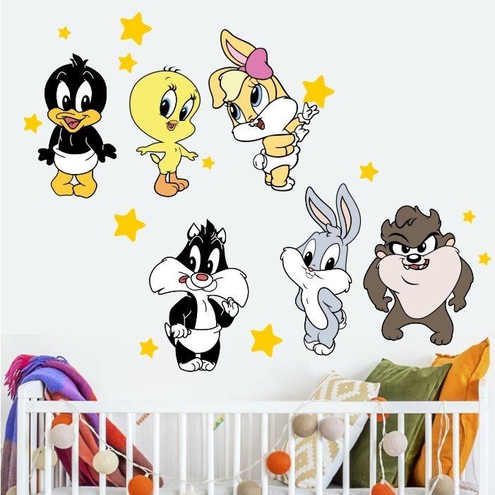 Adesivo Decorativo Baby Looney Tunes Pequeno R 49 63 Em Mercado