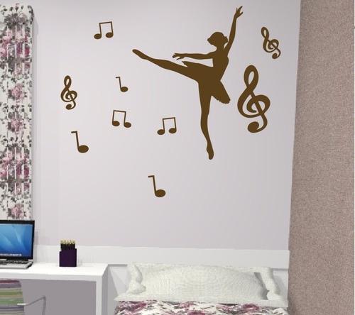 adesivo decorativo bailarina 1 (95x133)cm