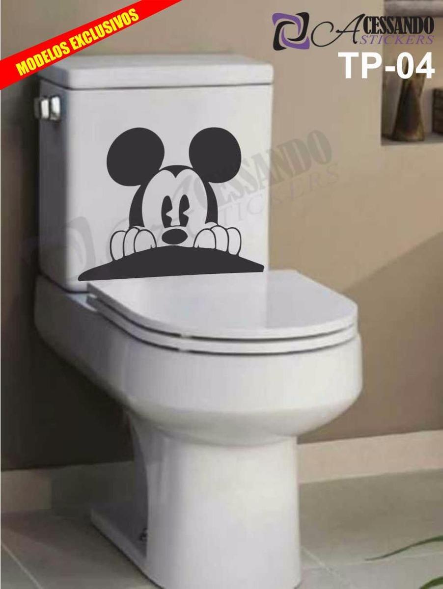 Adesivo Decorativo Banheiro Caixa Acoplada Mickey