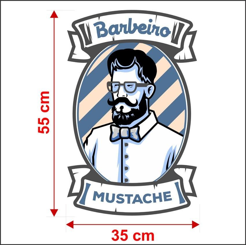 Armario Ikea Aneboda ~ Adesivo Decorativo Barbearia Tesoura Pente Navalha Will485 R$ 67,79 em Mercado Livre
