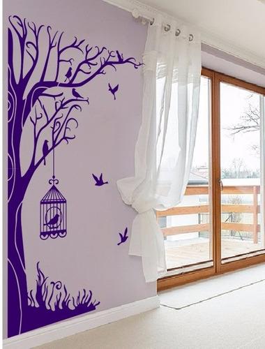 adesivo decorativo bosque (115x196)cm