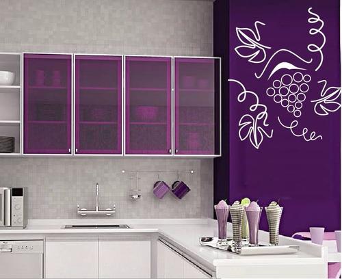 adesivo decorativo bunch of grape (70x47)cm